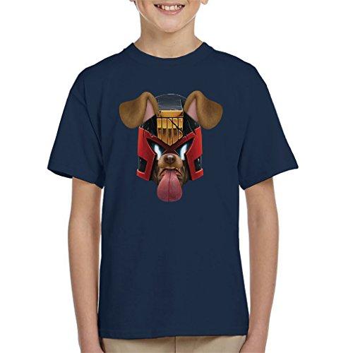 Judge Dredd Dog Snapchat Filter Kid's T-Shirt