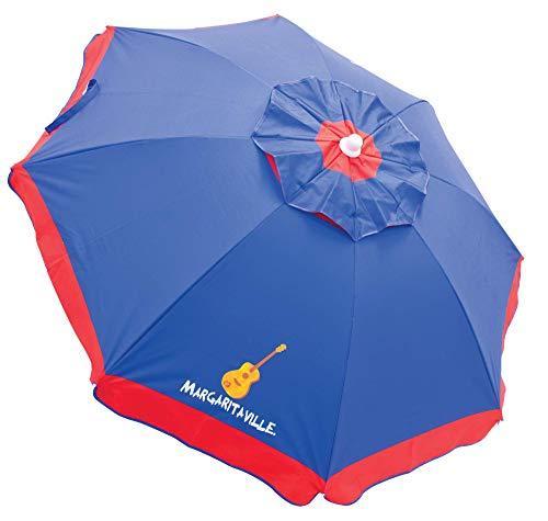 Rio Margaritaville 6' Beach Umbrella with Built in Sand Anchor