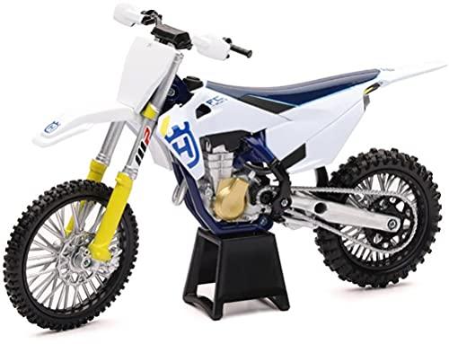 New-Ray - 58153-1:12 Scale Toy FC450 Motocross Bike, Blue (FJCNR58153)