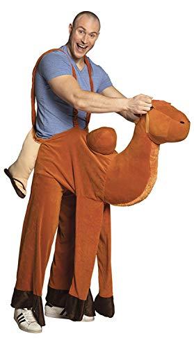 Boland-BOL88091 Divertido Disfraz de Camello a Caballo, Color marrón, Talla única (Ciao SRL BOL88091)