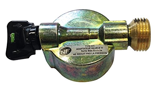 Vanne pour Elfi, Twiny, Malice Eurogaz - Adaptateur valve diamètre 20 mm