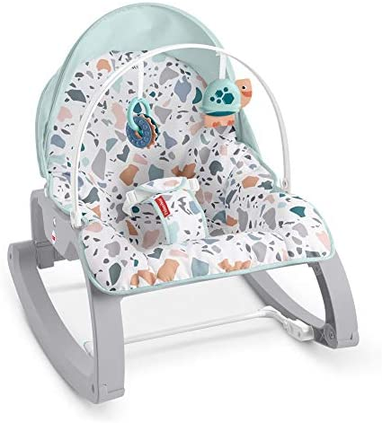 Fisher Price Deluxe Infant to Toddler Rocker Seat Pacific Pebble Multi product image