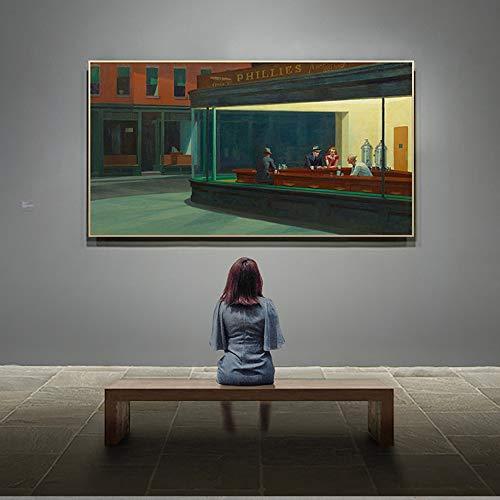 Santangtang beroemd canvas muurkunst schilderij woonkamer banner kunst schilderij gang wanddecoratie schilderij decoratie zonder lijst