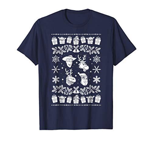 Disney Pixar Toy Story Ugly Christmas Sweater T-Shirt