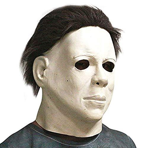 thematys Michael Myers Horror Film Killer Maske - perfekt für Fasching, Karneval & Halloween - Kostüm für Erwachsene - Latex, Unisex Einheitsgröße