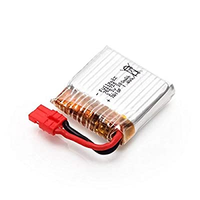 YUNIQUE UK 1 Piece 3.7v 380mAh Lipo Battery for Syma X21 X21W WIFI FPV Mini Drone Spare Parts