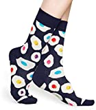 Happy Socks Sunny Side Up Sock Calcetines, Multicolor (Multicolour 650), 7/10 (Talla del fabricante: 41-46) para Hombre