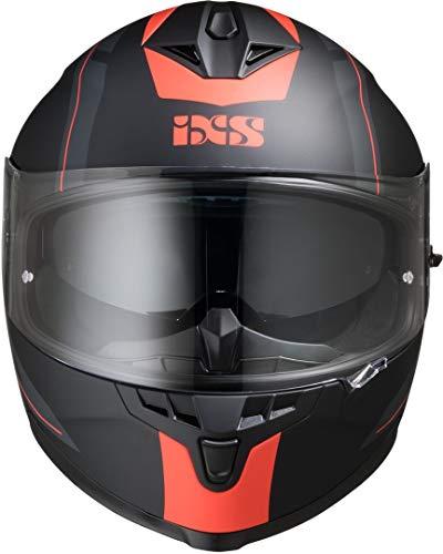 IXS 1100 2.0 Helm Schwarz Matt/Rot XL (61/62)