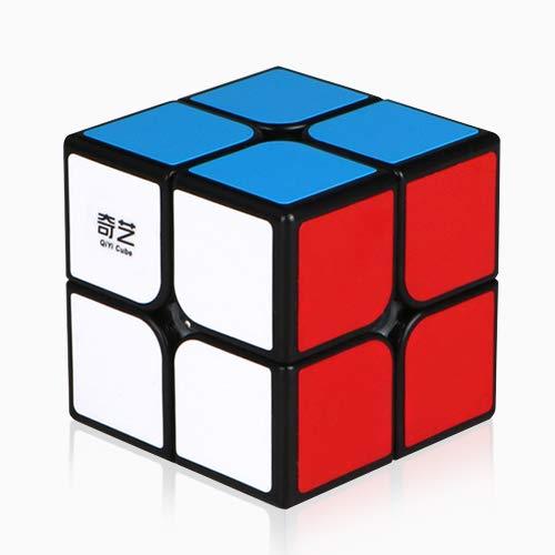 Qiyi Qidi Speed Cube 2x2- Smooth Bright-Light...