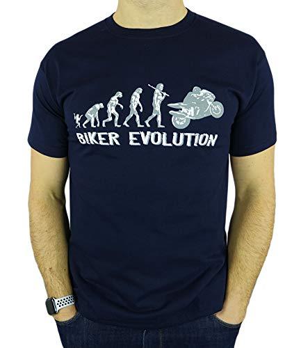 Motorbike/Superbike Moto GP Evolution - Regalo de cumpleaños Divertida Moto/Presente para Hombre de la Camiseta