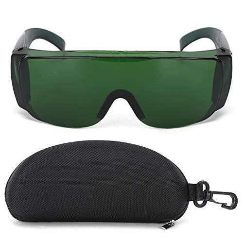 Gafas protectoras, gafas láser Gafas de seguridad Accesorio industrial Gafas protectoras para filtro de luz(verde)