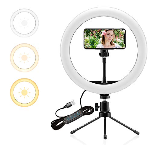 $8.40 Selfie Ring Light Use promo code: 60L5FRIK Works only on White option with a quantity limit of 1