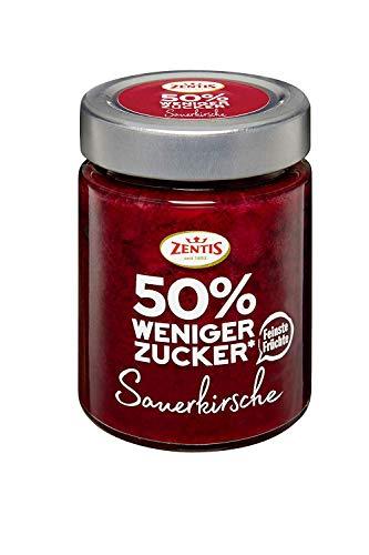 Zentis 50% weniger Zucker Sauerkirsche, 195 g