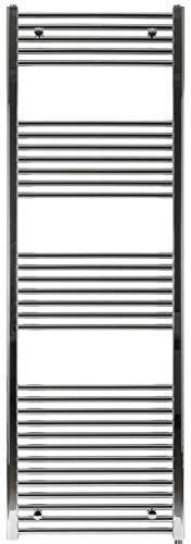 anapont Radiador Toallero,Radiador, Cromo, Recto, Disponible en Diferentes Tamaños, Soporte Toallas de Manos, Secador de Toalla - 1775h x 750b
