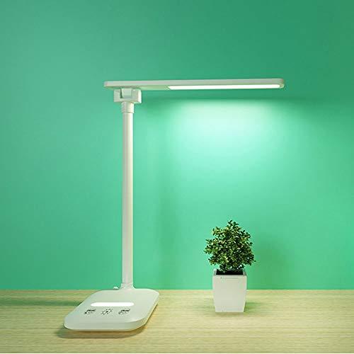 Sebasty Lámpara LED De Suspensión De Escritorio con Puerto USB Luz De Oficina Premium con Cargador Inalámbrico Lámpara Control Táctil 30.0 Cm * 12.0 Cm * 13.0 Cm