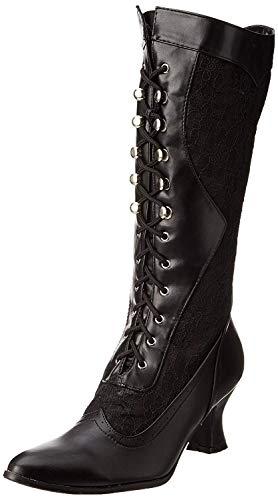 Ellie Shoes Women's 253 Rebecca Victorian Boot, Black, 6 M US
