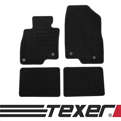 CARMAT TEXER Textil Fußmatten Passend für Mazda 6 III GJ Bj. 2012- Basic