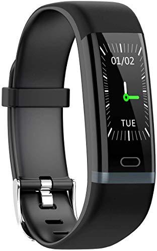 Waterdichte fitnesshorloge voor volwassenen, geschikt voor kleurenbeeldscherm, Smartwatch, multifunctioneel horloge voor mannen en vrouwen, voor kleuren van Android iOS-3