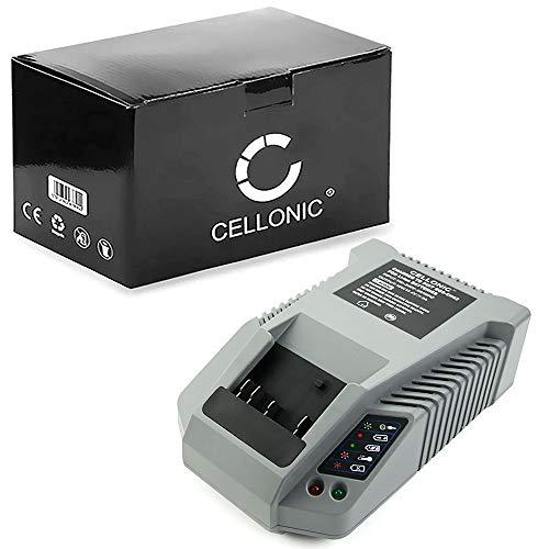 CELLONIC® Caricabatteria premium compatibile con Bosch AL1860, 2607225322, 2607336078 (14.4V / 18V ]) Alimentatore Caricatore Cavo di ricarica nero