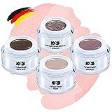 En Vogue Collection Set - Color Effekt Gel - Gelnägel Farbgel - Made in Germany (4 x 5ml)