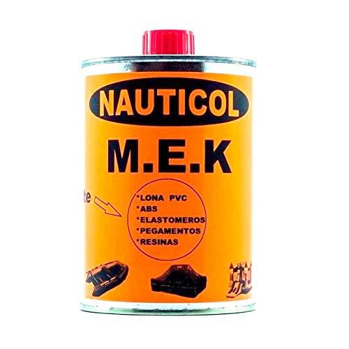Nauticol Disolvente para PVC MEK Quita pegamentos para neumáticas de PVC 750 ml
