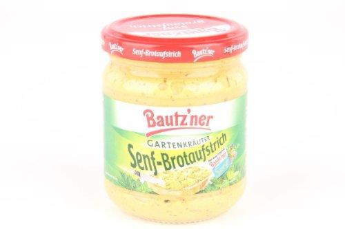 Bautzner Senf- Brotaufstrich Gartenkräuter - 1 x 200 ml