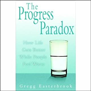 The Progress Paradox audiobook cover art