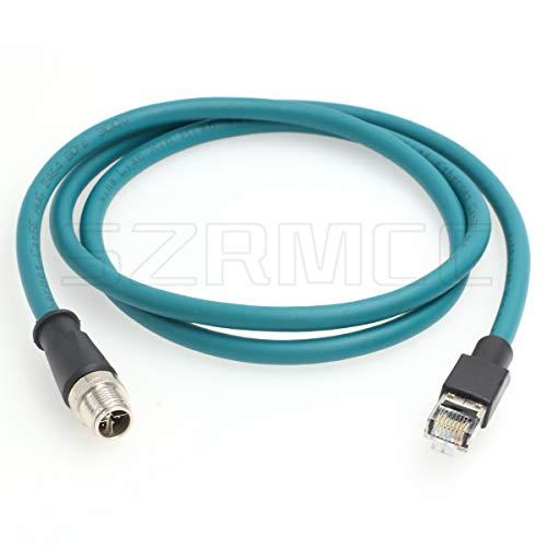 SZRMCC M12 - Cable blindado para cámaras industriales (8 posiciones)
