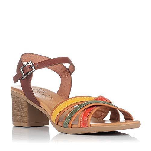 Sandalias de tacón Porronet 2631 Cuero