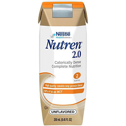 Nutren 2.0 Calorically-Dense Complete Nutrition, Unflavored, 8.45 Fl Oz (24 Count)