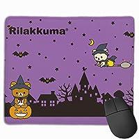 リラックマ マウスパッド ゲーミングア ルミマウスパッド マウス パッド ワイヤレスマウスパッド 光学式/レーザー式に対応 滑り止め 縦型 会社用 家庭用 おしゃれ