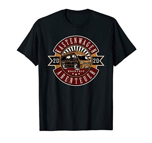 Kastenwagen Abenteuer T-Shirt