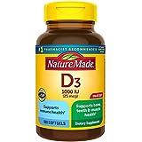 Vitamin D3, 180 Softgels, Vitamin D 1000 IU (25