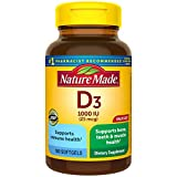 Nature Made Vitamin D3 1000 IU, Value Size, 180-Count Softgels