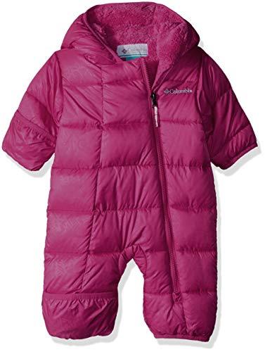 Columbia Unisex Baby Infant Frosty Freeze Bunting, Cactus Pink Emboss, 0/3