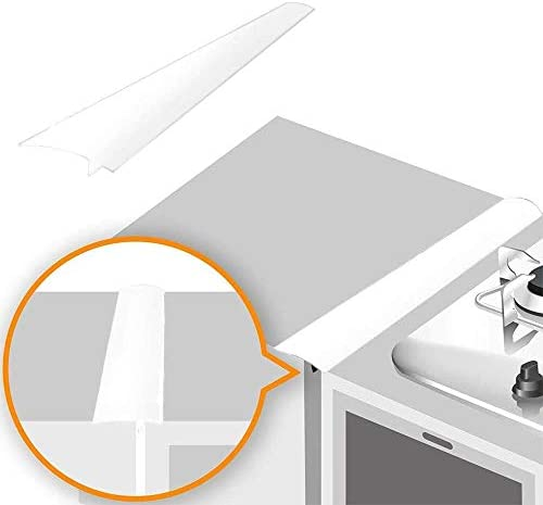 Linda s Silicone Stove Gap Covers 2 Pack Heat Resistant Oven Gap Filler Seals Gaps Between Stovetop product image
