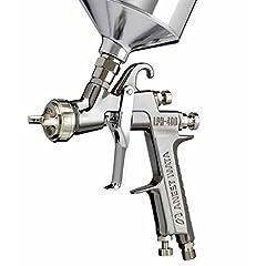 Fluid Nozzle Size mm (inch): 1.4 (0.055) Atomizing PSI: 16.0 CFM: 9.5 Air Cap Model: LV4 Fluid Output ml/min: 130