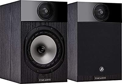 Fyne Audio F300 Bookshelf Speakers - Black from Fyne Audio