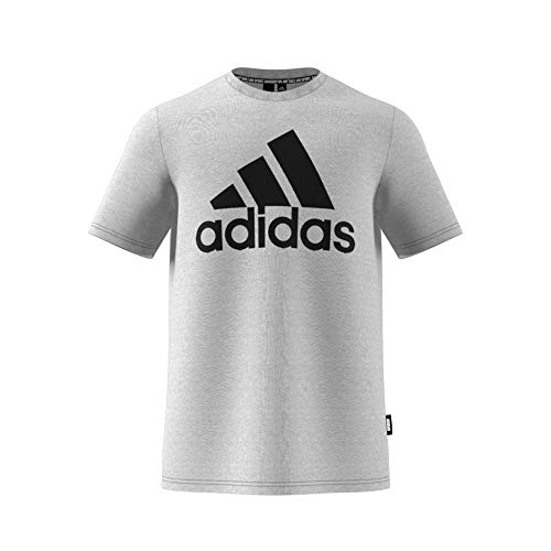adidas MH BOS Tee T-Shirt Homme Medium Grey Heather FR: 2XL (Taille Fabricant: 2XL)