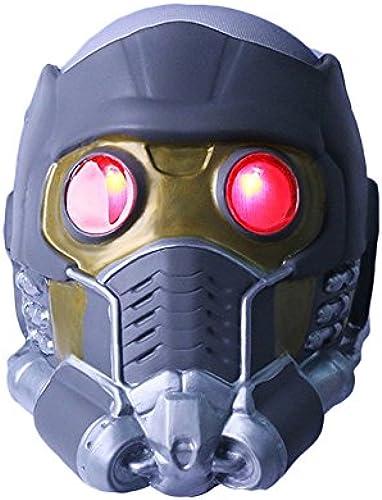 QXMEI Starcraft Helme Guardians Masken Cos Halloween Guard Helme,LuminousCap-OneGröße