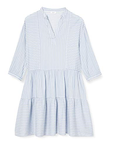 Marc O´Polo Denim Damen 044102221479 Kleid, Mehrfarbig (Multi U66), Large (Herstellergröße: L)
