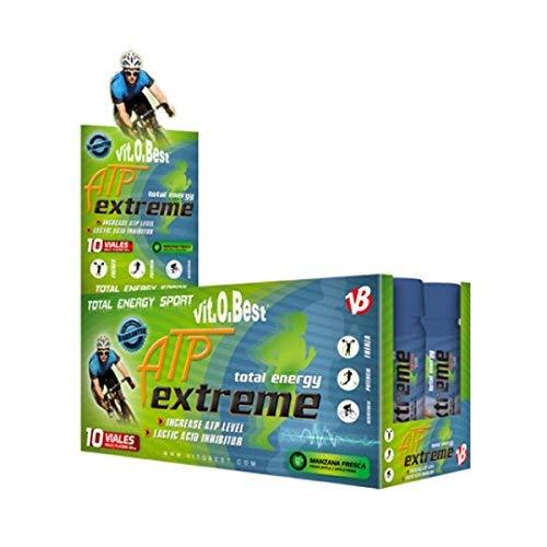ATP EXTREME 10 VIALES 23 g MANZANA FRESCA - Suplementos Alimentación y Suplementos Deportivos - Vitobest