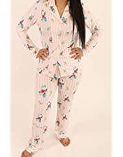 ملابس نوم للنساء من قطعتين من جوليا