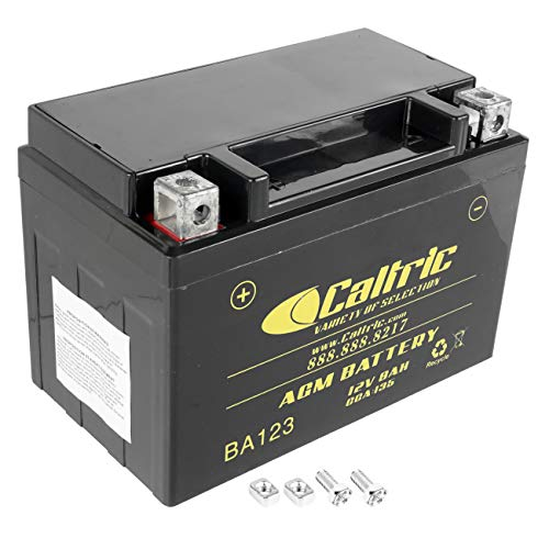 Caltric compatible with Agm Battery Honda Trx250Ex Trx-250Ex Sportrax 250 2001-2008