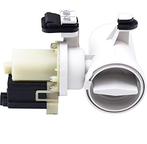 W10130913 Washer Drain Pump,WPW10730972 Washer Drain Pump compatible with Whirlpool Kenmore Maytag Washer 8540024, W10130913, AP4308966, PS1960402,W10117829 by Lucky Seven