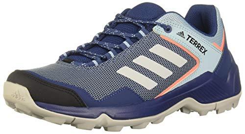 adidas Damen Terrex Eastrail W Leichtathletik-Schuh, Tech Indigo/Grey Two F17/ Signal Coral, 40 EU