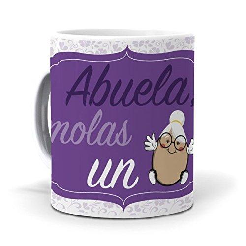 mundohuevo Taza Abuela, molas un Huevo
