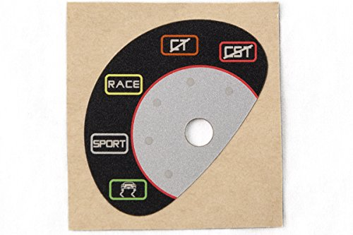 MAcarbon Ferrari 430 Scuderia/16M Manettino Switch Sticker