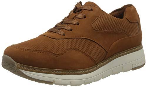 Tamaris Damen 1-1-23783-24 Sneaker, Braun (Nut Suede 450), 37 EU