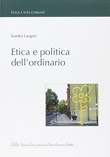 Etica e politica dell'ordinario